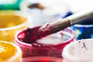 how to thicken acrylic paint