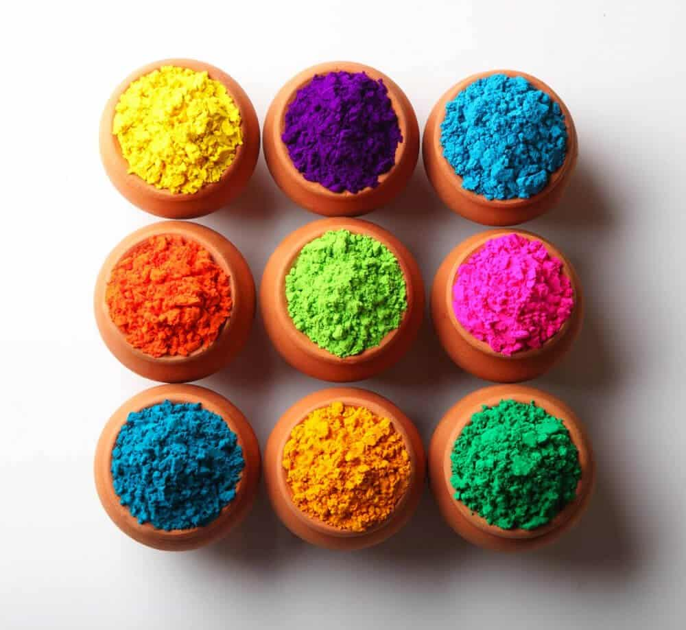 types of pigments