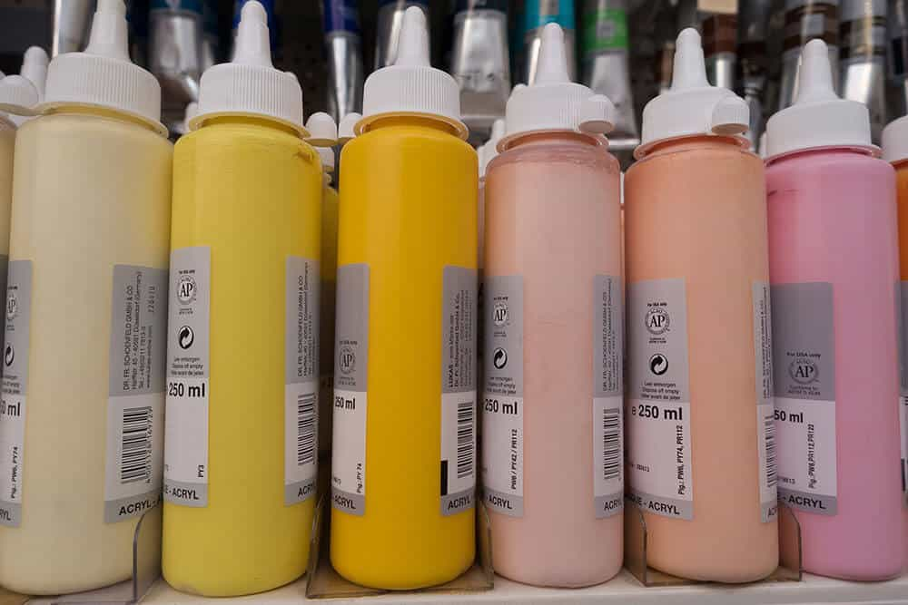 acrylic polymer emulsion for thinning paint