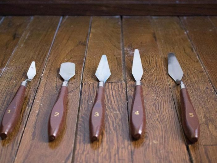palette knives for acrylic