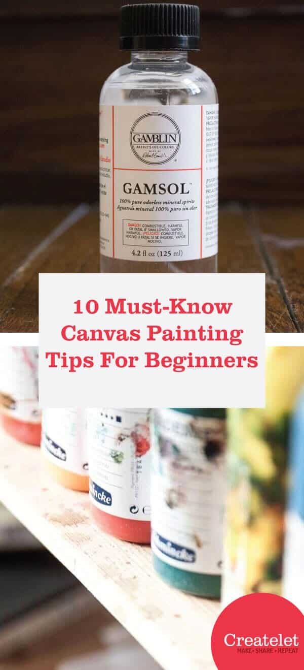 canvas painting tips