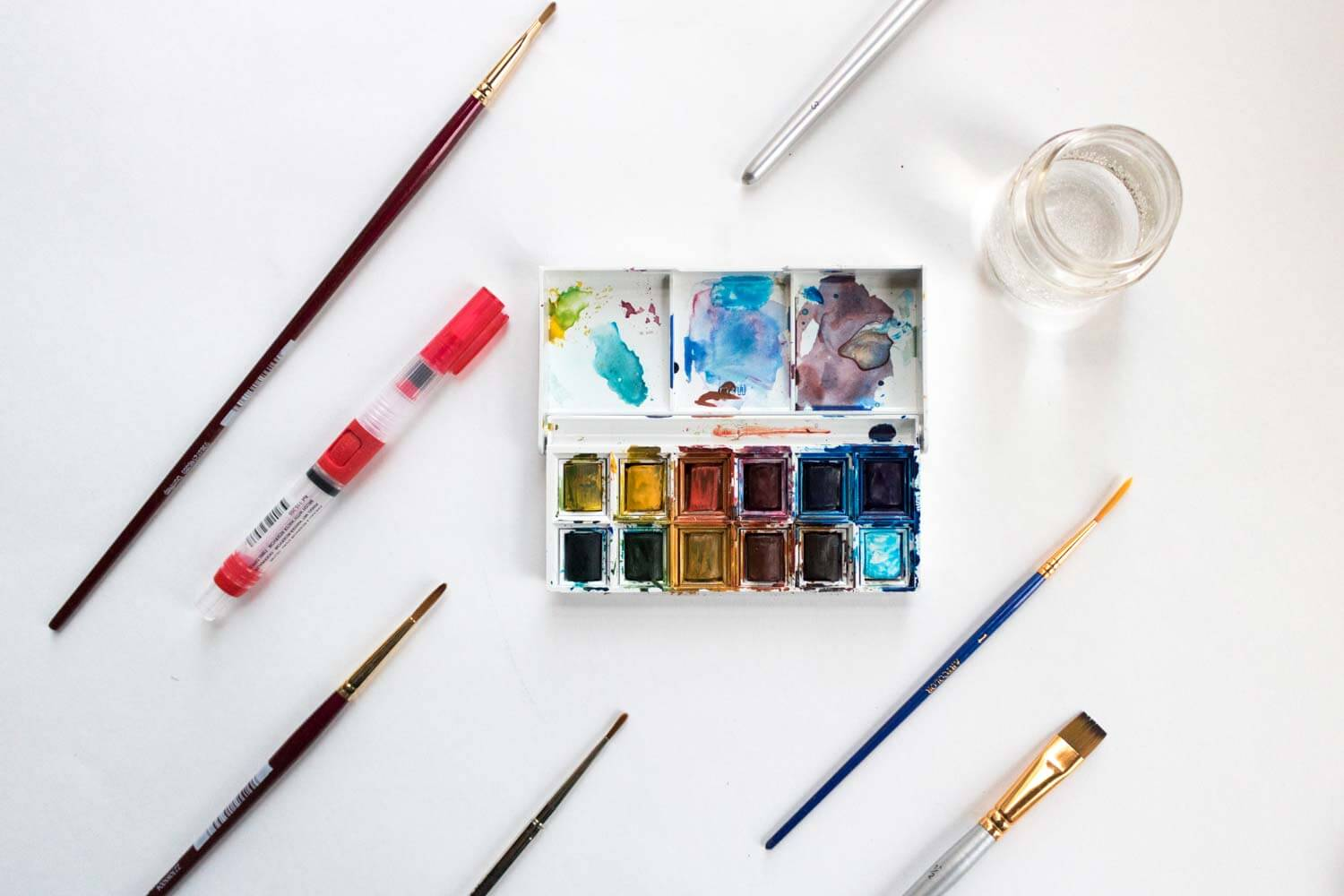 Best Watercolor Brushes Reviews Of The Top Brands 2019