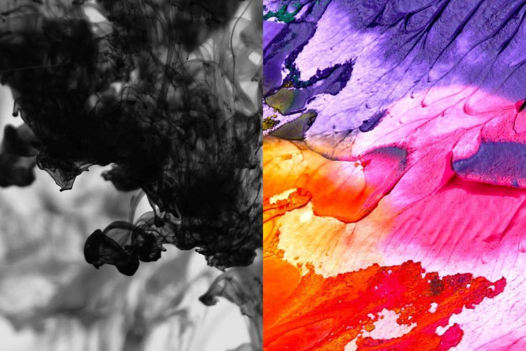 ink vs paint