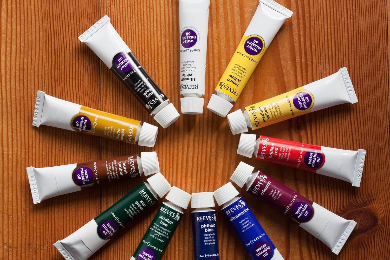 oil paint sampler pack