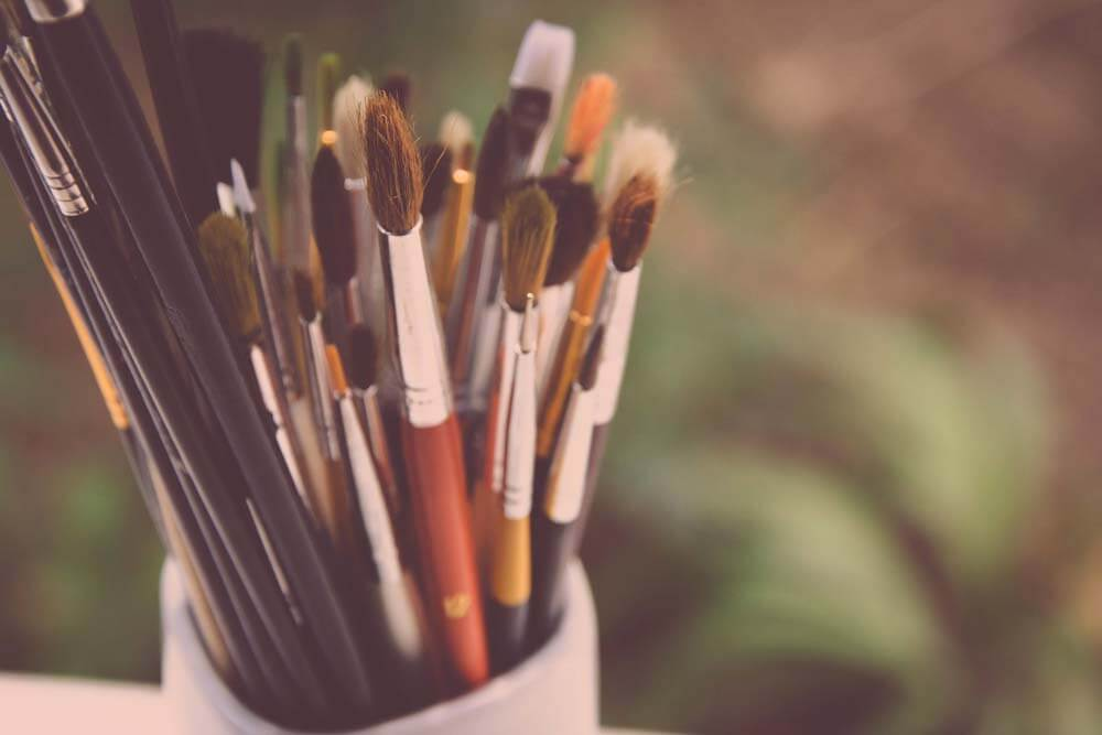 paint brushes for going plein air