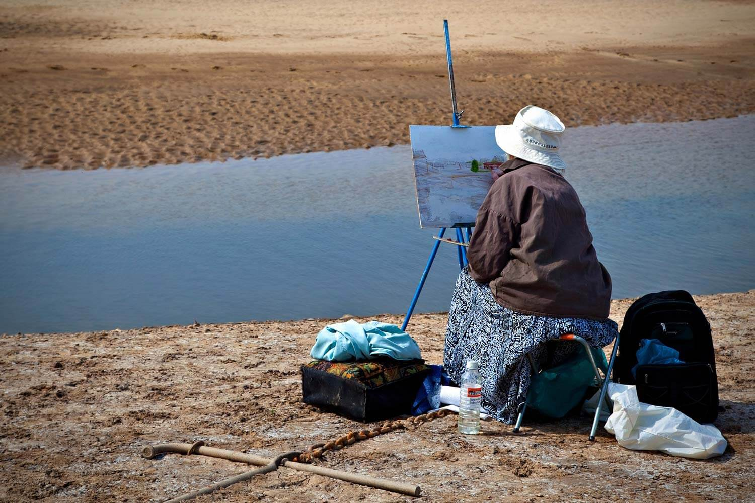 scouting your location for plein air painting
