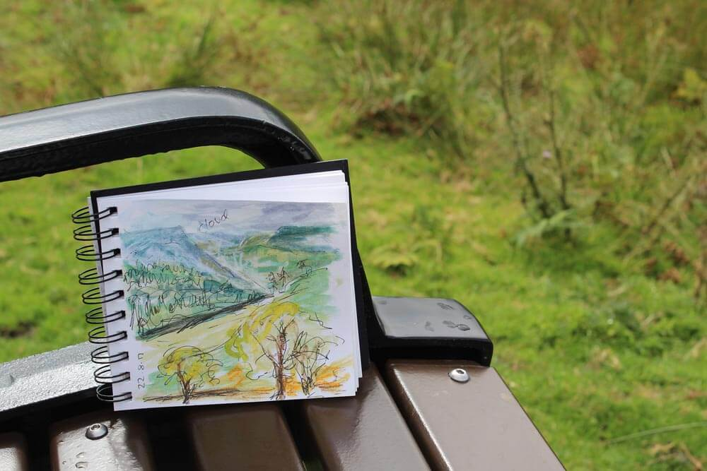 watercolor sketchbook for plein air painting