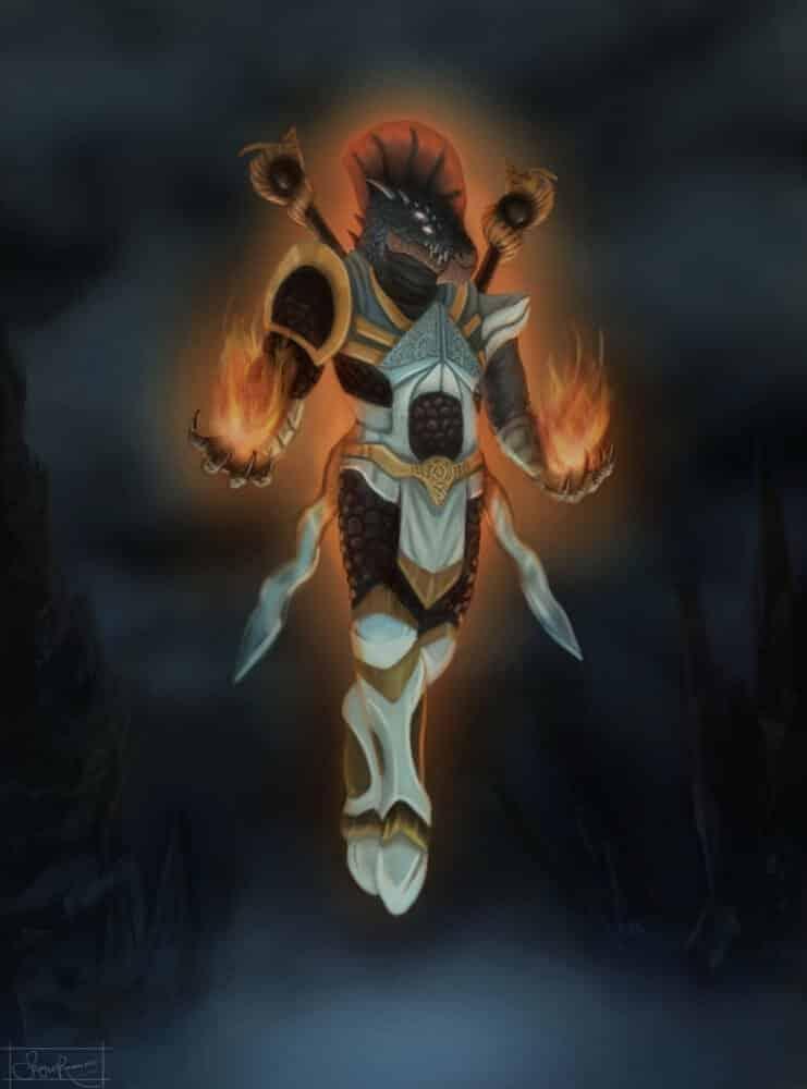 Paladin Dragon-born By - Sergio Ramirez