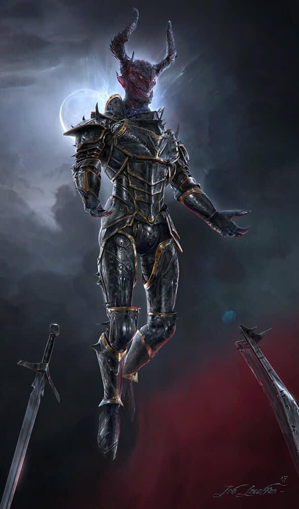 Demon Soldier By - joé Lesaffre