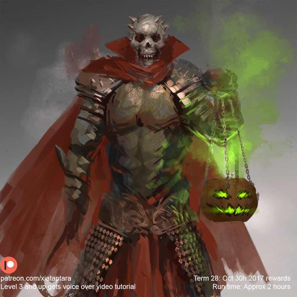 Knight of skull By - Xia Taptara (黃曉聲)