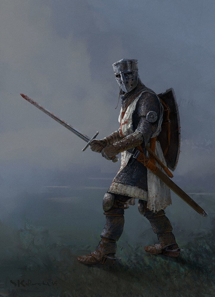 Crusader By - Stefan Kopinski
