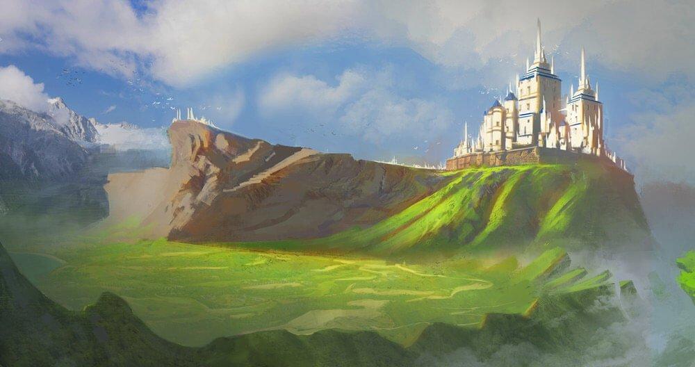 Landscape Fantasy By - Mirko Mastrocinque