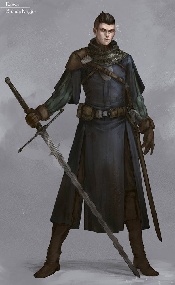 Bromin Character Design By - India-Lee Crews