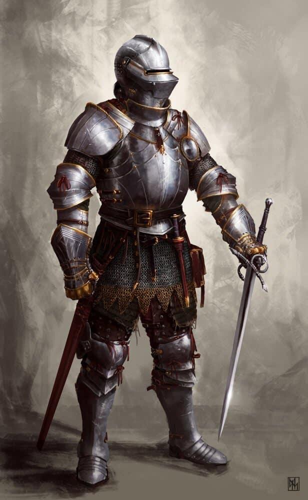 The Blind Knight By - David Escribano Herrero