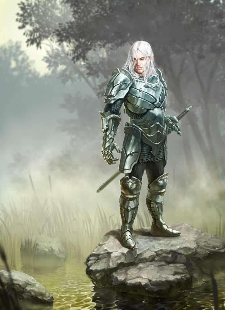 Lonely Knight By - Volodymyr Mudryk