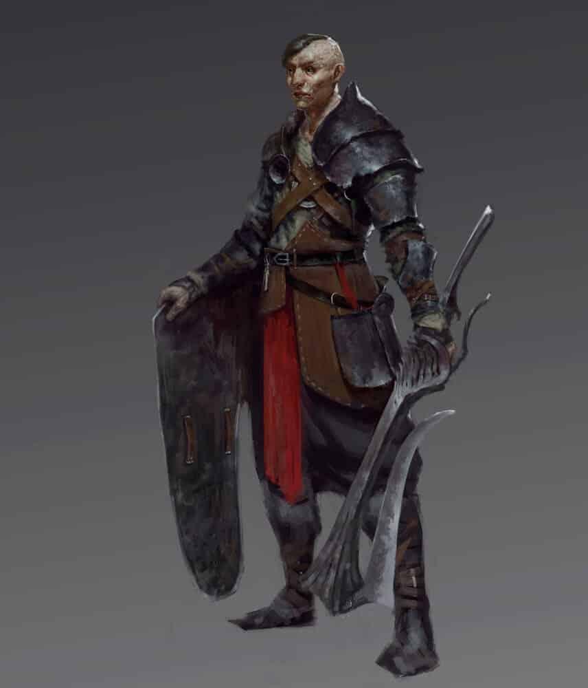 Battleworn Knight By - Anton N