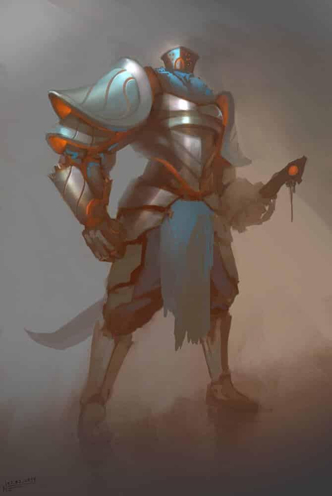Arcane Knight By - Nikola Enchev
