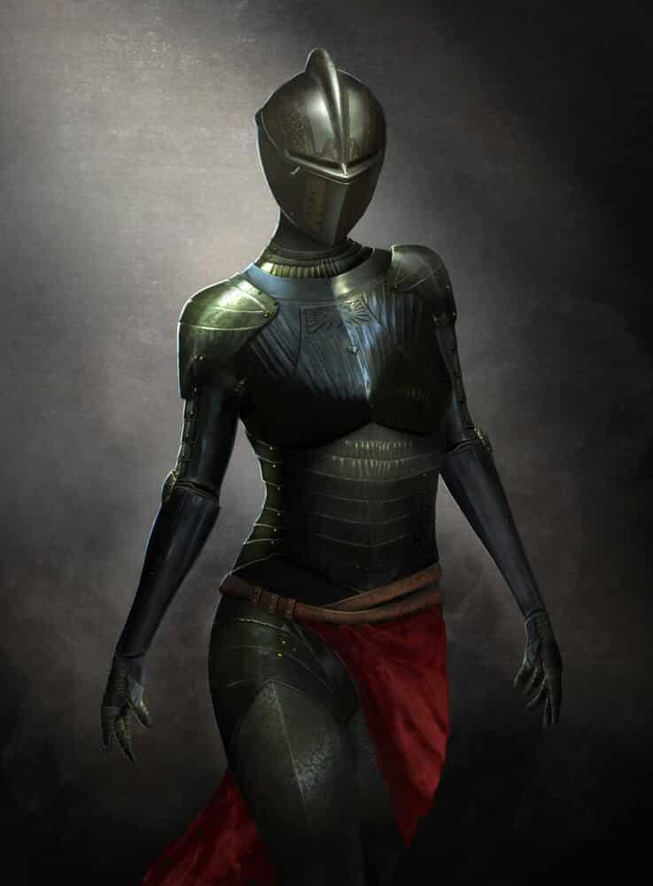 Female Knight By - Sonny Do