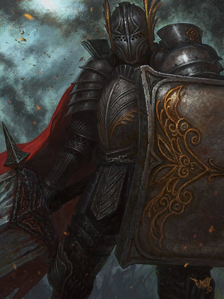 Sword knight By - Iron Mask