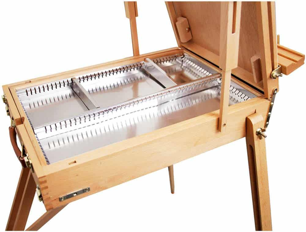us art supply drawer - best plein air easel