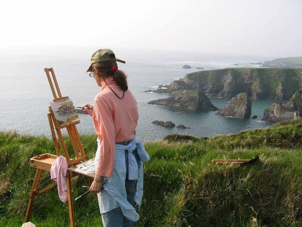 french easel for plein air painting