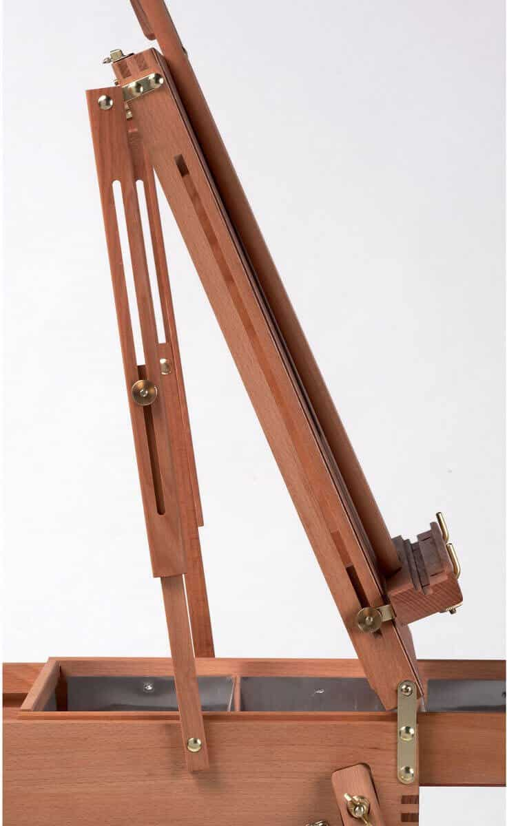 jullian paris half box easel hinge - best plein air easel