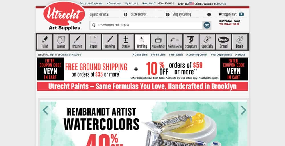 Where To Buy Art Supplies Online: Here's Where The