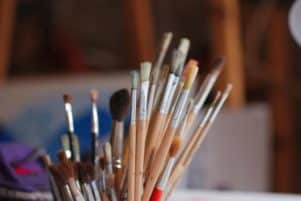 how to clean oil paint brushes without thinner