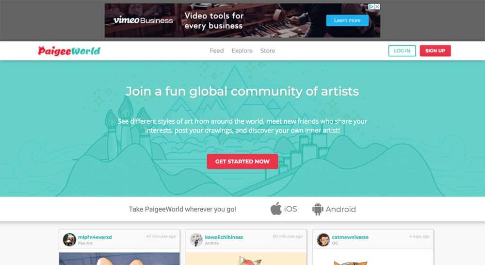 sites like deviantart - paigee