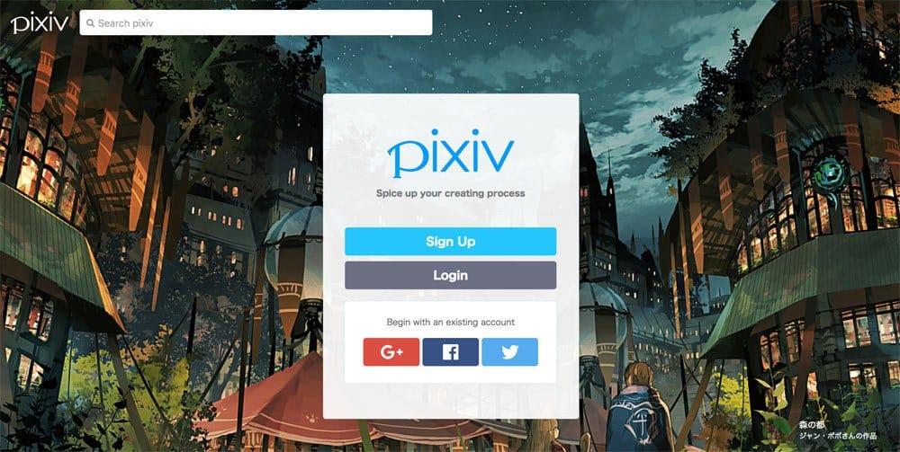 sites like deviantart - pixiv