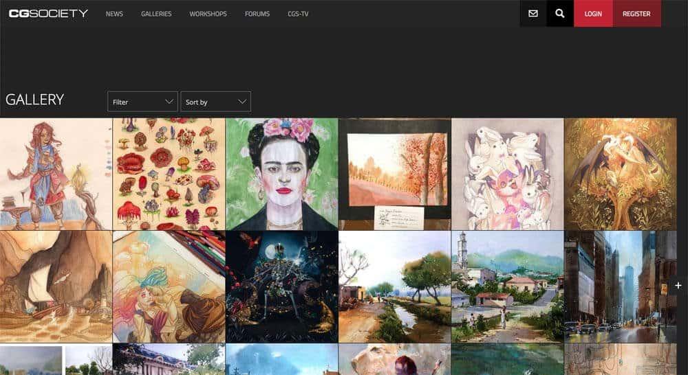 sites like deviantart -
