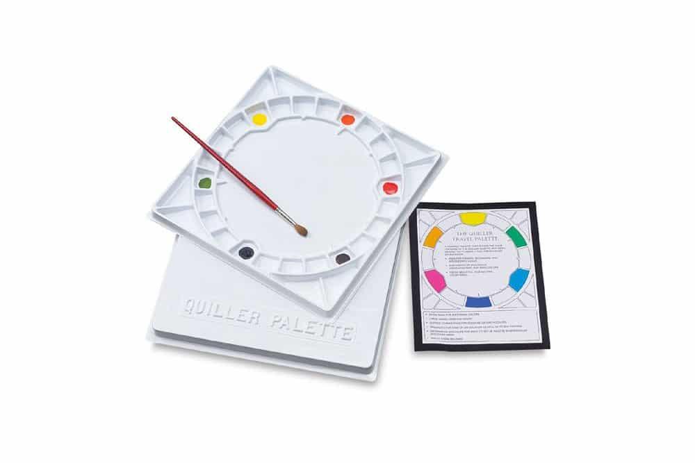 stephen quiller color wheel palette