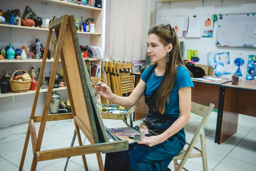 best art easel for painting