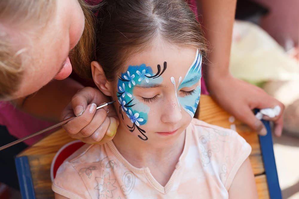 face painting techniques